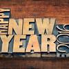 Happy New Year 2016 typograpjy