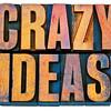 crazy ideas in letterpress wood type