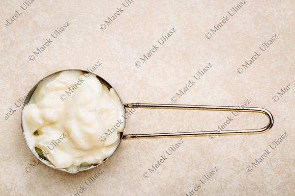scoop of Greek yogurt