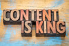 Content is king in wood type