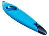 plastic old whitewater kayak