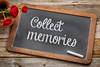 Collect memories on blackboard
