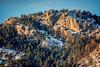 Arhtur Rock in winter scenery