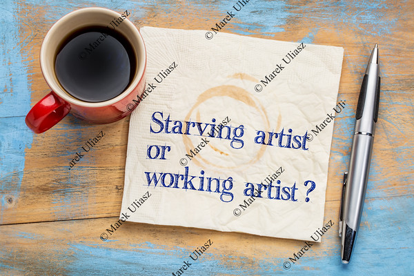 starving or working artist question