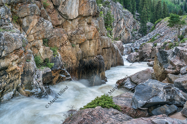 Poudre Falls at high water