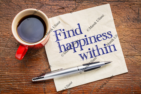 Find happiness within advice