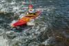river kayaker paddling