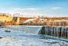 river diversion dam in Colorado