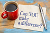 Can you make a difference?