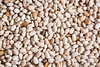 white chia seeds background