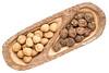 English and black walnuts