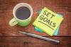 set goals reminder note