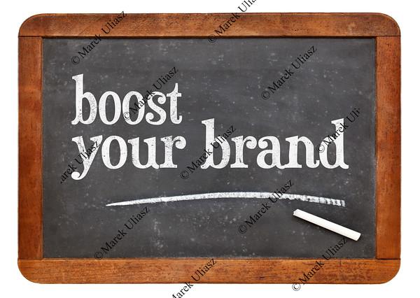 Boost your brand on blackboard