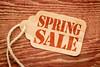 spring sale price tag