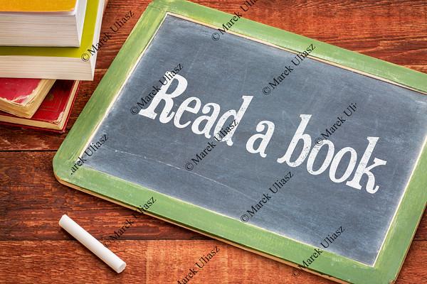 Read a book advice on blackboard