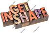 get in shape in wood type
