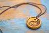 yin and yang pendant