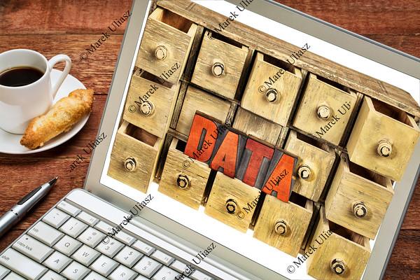 computer data storage concept