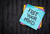 free your mind reminder note