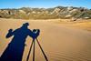 photographer shooting - shadow abstract