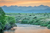 St Vrain Creek and Rocky Mountains