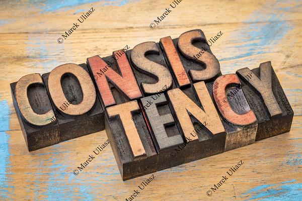 consistency word in wood type