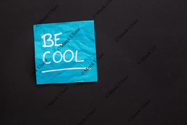 Be cool - sticky note reminder