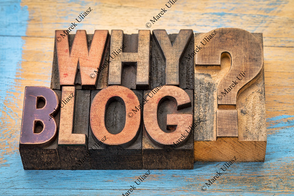 Why blog question