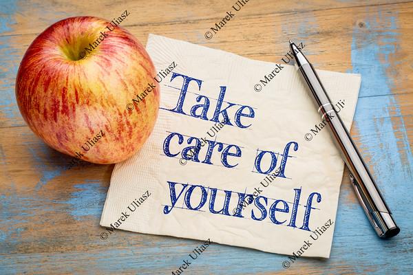 Take care of yourself advice