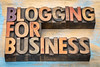 blogging for busines banner