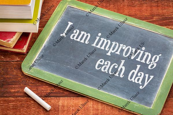 I am improving each day