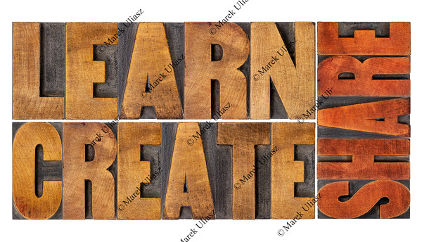 learn, create and share