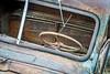 junk rusty car