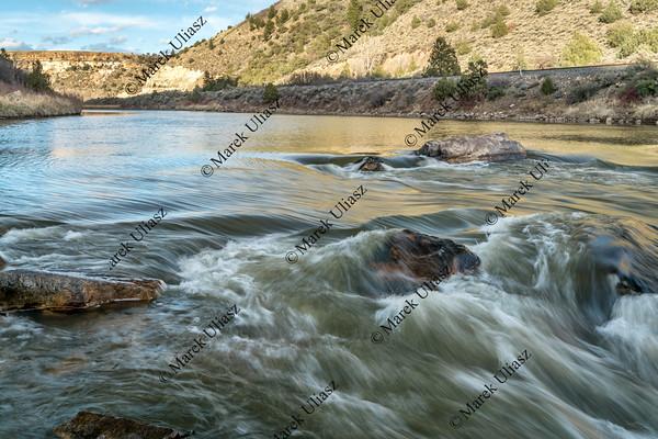 Rodeo Rapid on Colorado River
