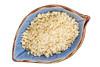macadamia nut flour in a bowl