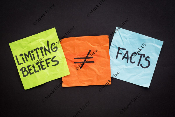 limiting beliefs are not facts