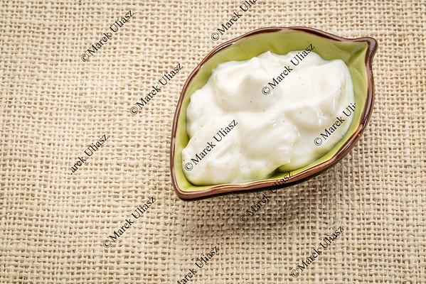 vanilla Greek yogurt bowl