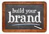 build your brand blackboard sign