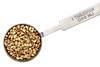 hemp seeds on measuring spoon
