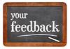 your feedback blackboard sign