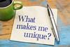 What makes me unique?