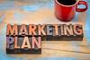 marketing plan in wood type