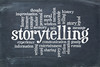 storytelling  word cloud