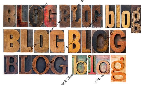 blog word collage