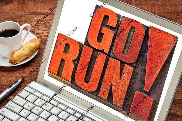 go run motivation concept