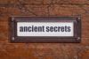 ancient secrets - file cabinet label