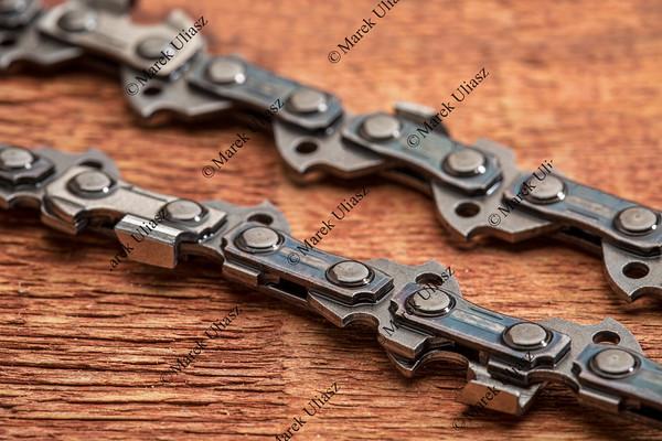 power saw chain detail