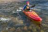 paddling river kayak