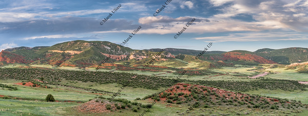 Red Mountains panorama