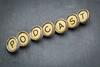 podcast word in  typewriter keys
